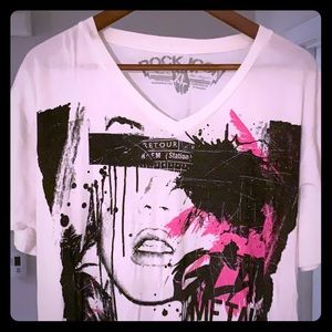 Rock Icon XL graphic tee